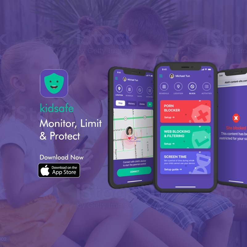 Mobile app marketing for Kid Safe