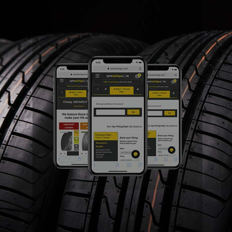 Paid search for tyre savings