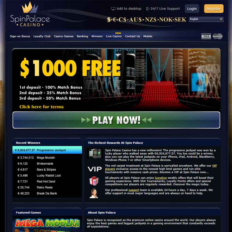 Link Building Spin Palace Casino Top Of Page Rankings
