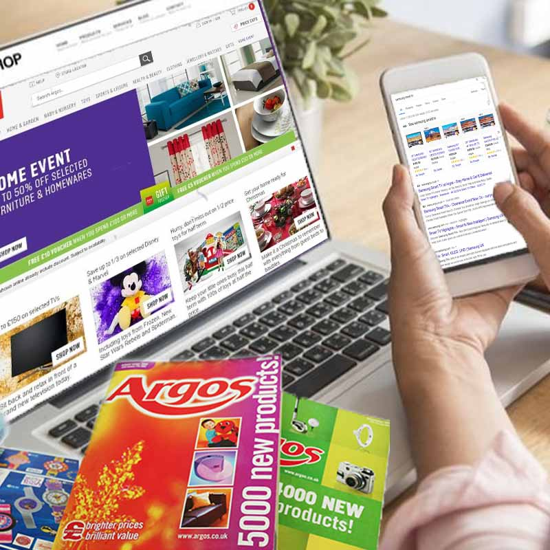 eCommerce marketing for Argos