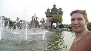 Damon Simpson in Vientiane Laos