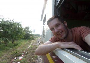 Damon Simpson Train Bangkok